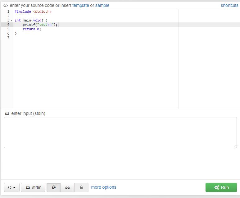 C言語のサンプルソース